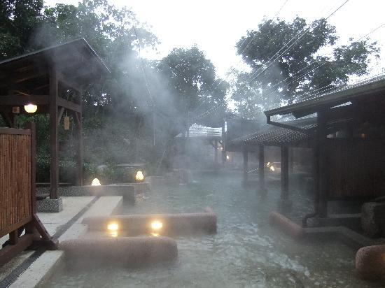 When One Sees The Words Hot Spring Image That Springs To Mind Would Be Of A Peaceful Anese Onsen With Backdrop Snow Covered Ground